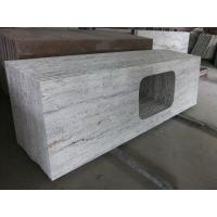 """Buy cheap Gray Thick Stone Slab Countertop Stone Vanity Tops 108"""" X 25.5"""" X 2"""" Size from Wholesalers"""