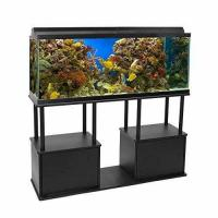 Buy cheap Aquatic Fundamentals 55 Gallon Aquarium Stand with Shelf, 55 Gallons, Black from Wholesalers