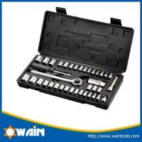 Buy cheap Hammers & Axe 40-piece SAE/MM Socket Set with Ratchet handle from Wholesalers