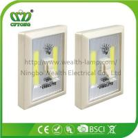 Buy cheap Promotion Magnetic Velcro Plastic 6W COB LED Wall Switch Light with CE RoHS BSCI from Wholesalers