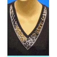 Buy cheap Christine Alexander multi animal V-neck shirt short sleeve fitted size S to L from Wholesalers