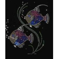 Buy cheap Christine Alexander shirt fish wish black 3/4 vneck Small only from Wholesalers