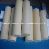 China Guangzhou customized plastic material rods tough hard pvc round plastic bar factory