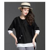 Buy cheap Loose Seven-minute Sleeve T-shirt from Wholesalers