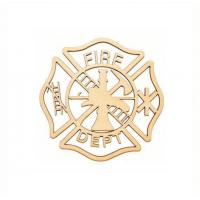 Wooden Maltese Cross