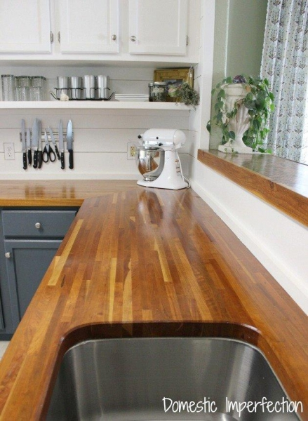 Quality Wooden Countertops Pros And Cons for sale