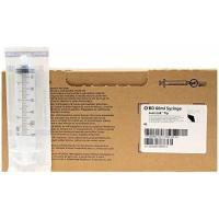 BD 60ml CC SYRINGE ONLY - Box of 40 - Leur Lock Tip