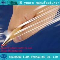 Buy cheap Self-adhesive plastic packaging film advanced tray protection film from Wholesalers