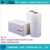 Buy cheap Anti-tear LLDPE plastic packaging film high elasticity from Wholesalers