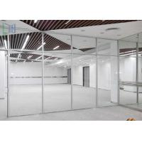 Commercial Division Aluminium Office Partition With Single / Double Glazing Glass
