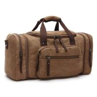 Oversized Canvas Travel Luggage Bag Weekend Duffel Shoulder Handbags