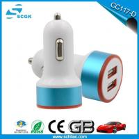 5V 2.1A Dual USB Car Charger Adapter For IPad For IPhone For Huawei For Samsung