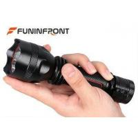 6061 - T6 Aluminum Micro Usb FlashlightHome Deopt 350LMs With Concave Convex Lens