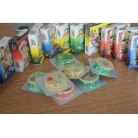 Buy cheap Big Hard Dotted Condom With Spikes , Colored Different Types Of Condoms from Wholesalers