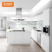 Buy cheap Best White Ready Made White Painted Stained Custom Kitchen Cabinets from wholesalers