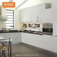 Buy cheap Low Cost Refacing White Painted Modern Cabinets in Kitchen from wholesalers