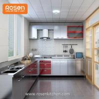 Buy cheap White Stainless Steel Kitchen Sink Cabinets Doors Direct from wholesalers