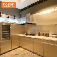 Buy cheap Stainless Steel Modular Vintage Metal Kitchen Cabinets for Repalcement Doors from wholesalers