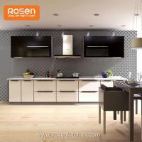 Buy cheap Unassembled Luxury Flat Kitchen Craft Cabinets with Glass Doors from wholesalers
