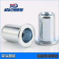With flat head,cylinder rivet nuts