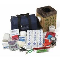 10-PERSON Office Evacuation & Shelter-In-Place Emergency Kit - 10100
