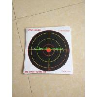 Buy cheap Heavy Card Reactive Splatter Shooting Targets, Multi Colour from Wholesalers