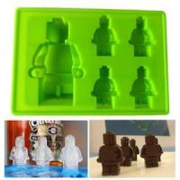 Buy cheap Lego Robot People Figure Silicone Mould Chocolate Cake Baking Fondant Decorating ice cube tray from Wholesalers