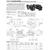 Buy cheap Gear_pump C101/C102 from Wholesalers