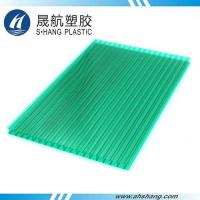 Buy cheap Twin-wall PC hollow sheet - 8mm Green from Wholesalers