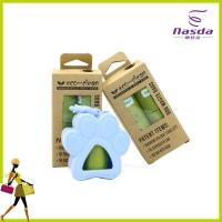 plastic PET waste bag with dispenser