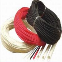 Buy cheap Silicon Rubber Fiberglass (Fiber Inside and Rubber Outside) Sleeving from Wholesalers