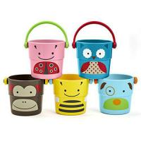 Buy cheap Skip Hop Zoo Stack and Pour Buckets, Rinse Cups, Multi from Wholesalers