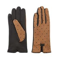 Leather gloves with topitos B076CNGGMT Leather gloves with topitos B076CNGGMT