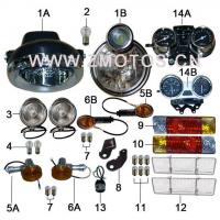 Tricycle F06A METER AND LIGHTS-A