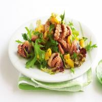 Tasty Spicy and Hot Frozen Seasoned Octopus Seafood Salad