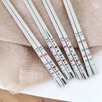 Buy cheap Metal Titanium Custom Chopsticks with Logo from wholesalers