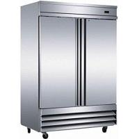 """Buy cheap 54"""" Upright Stainless Steel 2 Door Commercial Refrigerator, 46.5 Cubic Feet, CFD-2RR, for Restaurant from Wholesalers"""
