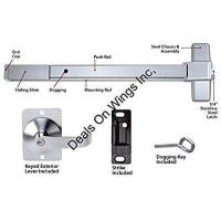 Buy cheap Commercial Doors Push Bar Panic Exit Device, Aluminum, with Exterior Lever from Wholesalers