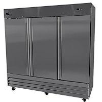 """Buy cheap Heavy Duty Commercial Stainless Steel Reach-In Refrigerator (81"""" Three Solid Door) from Wholesalers"""