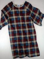 Buy cheap Mens Open Back Gown Flannel from wholesalers