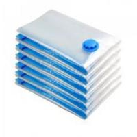 Buy cheap Plastic household flat vacuum storage bag for cloth from Wholesalers
