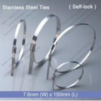 China E1272 Stainless Steel Tie (7.6mm x 150mm) factory