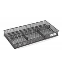 China Mesh Collection Desk Drawer Organizer 4 Dividers factory