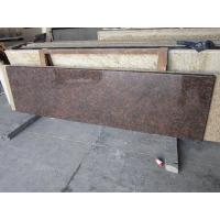 Buy cheap Tan Brown Granite Tiles Polish Finished For Counter Top from Wholesalers
