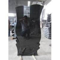Buy cheap Tombstone Gravestone Monument Shanxi Black Headstone China Black Gravestone Tombstone from wholesalers