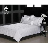Buy cheap Factory Wholesale Cheap White 100 Cotton Jacquard Bed Sheet from Wholesalers
