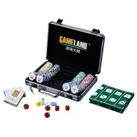 Buy cheap 200pcs Poker Chip Set In Silver Aluminium Case 14g Clay Chip With Normal Sticker In Silver Alu Case from Wholesalers