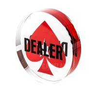 Buy cheap Deluxe Jumbo Clarity Crystal Dealer Button from Wholesalers