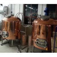Red Copper Brewhouse Mashing Tun Lautering Tun Boiling/Brewing Kettle Whirlpool Tank