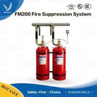 China ANSUL Hygood FM200 Fire Suppression System with HFC-227ea Gas Fire Extinguisher on sale